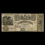Canada, Commercial Bank of Fort Erie, 2 dollars <br /> January 1837