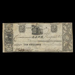Canada, Commercial Bank (Kingston), 2 dollars <br /> July 30, 1837
