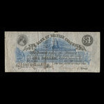 Canada, Bank of British Columbia, 1 dollar <br /> 1875