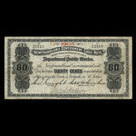 Canada, Newfoundland - Department of Public Works, 80 cents <br /> 1905