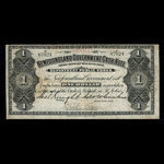 Canada, Newfoundland - Department of Public Works, 1 dollar <br /> 1906