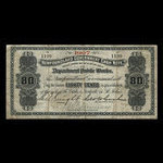 Canada, Newfoundland - Department of Public Works, 80 cents <br /> 1907