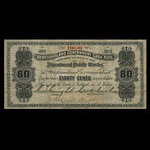 Canada, Newfoundland - Department of Public Works, 80 cents <br /> 1909