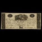 Canada, Bank of Canada, 2 dollars <br /> February 1, 1822