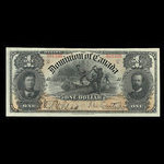 Canada, Dominion of Canada, 1 dollar <br /> March 31, 1898