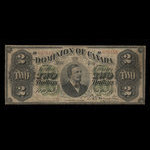 Canada, Dominion of Canada, 2 dollars <br /> June 1, 1878