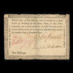 Canada, Government of Prince Edward Island, 10 shillings <br /> November 20, 1790