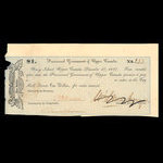 Canada, Provisional Government of Upper Canada, 1 dollar <br /> December 27, 1837