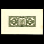 Canada, Dominion of Canada, 2 dollars <br /> July 2, 1923