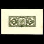 Canada, Dominion of Canada, 2 dollars <br /> July 2, 1923