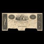 Canada, Montreal Bank, 50 dollars <br /> 1822