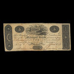 Canada, Montreal Bank, 5 dollars <br /> May 2, 1821