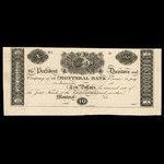 Canada, Montreal Bank, 10 dollars <br /> 1822