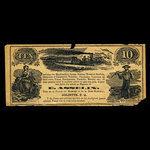 Canada, E. Asselin, no denomination <br /> 1887