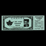Canada, Progressive Conservative Party of Canada, no denomination <br /> 1962