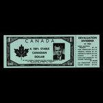 Canada, Progressive Conservative Party of Canada, no denomination <br /> 1962