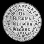 Canada, Boyce's Carriage Works, no denomination <br /> 1891