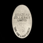 Canada, Brazeau Collieries Limited, no denomination <br />
