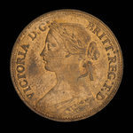 Great Britain, Victoria, 1 farthing <br /> 1860
