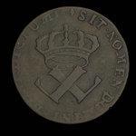 France, Louis XV, 9 deniers <br /> 1722