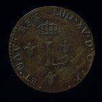 France, Louis XV, 2 sous <br /> 1760