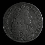 France, Louis XIV, 15 sols <br /> 1670