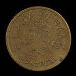 Canada, E.A. Cardinal, no denomination <br /> 1886