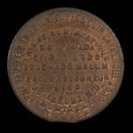 Canada, Dr. Joseph Leroux, no denomination <br /> 1885
