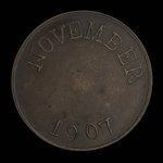 Canada, Royal Mint, 50 cents <br /> November 1907