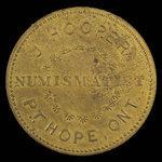 Canada, J. Hooper, no denomination <br /> 1895