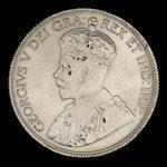 Canada, George V, 1 dollar <br /> 1936