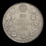 Canada, Edward VII, 50 cents <br /> 1904