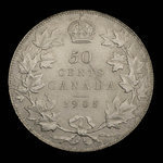 Canada, Edward VII, 50 cents <br /> 1905