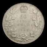 Canada, Edward VII, 50 cents <br /> 1906