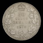 Canada, George V, 50 cents <br /> 1914