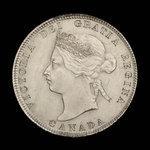 Canada, Victoria, 25 cents <br /> 1872