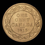 Canada, George V, 1 cent <br /> 1915