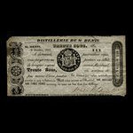 Canada, Wfd. Nelson & Co., 30 sous <br /> October 9, 1837