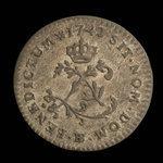 France, Louis XV, 2 sous <br /> 1742