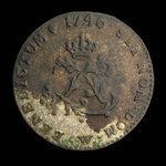 France, Louis XV, 2 sous <br /> 1746