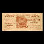 Canada, A. Dion, no denomination <br /> 1887