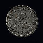France, Louis XV, 1 sol <br /> 1738
