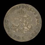 France, Louis XV, 2 sous <br /> 1739