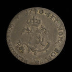 France, Louis XV, 2 sous <br /> 1740