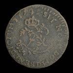 France, Louis XV, 2 sous <br /> 1741