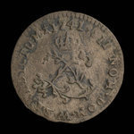 France, Louis XV, 2 sous <br /> 1741