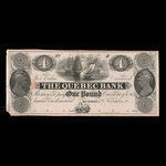 Canada, Quebec Bank, 4 dollars <br /> October 20, 1818