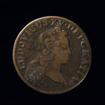 France, Louis XV, 1/2 sol <br /> 1722