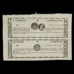 Canada, W.U. Chaffers, 24 sous <br /> July 6, 1837