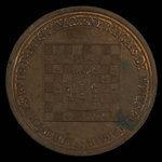Canada, Club d'Échecs et de Dames Canadien Français de Montréal, no denomination <br /> 1897